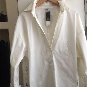 Laundry white blouse tunic
